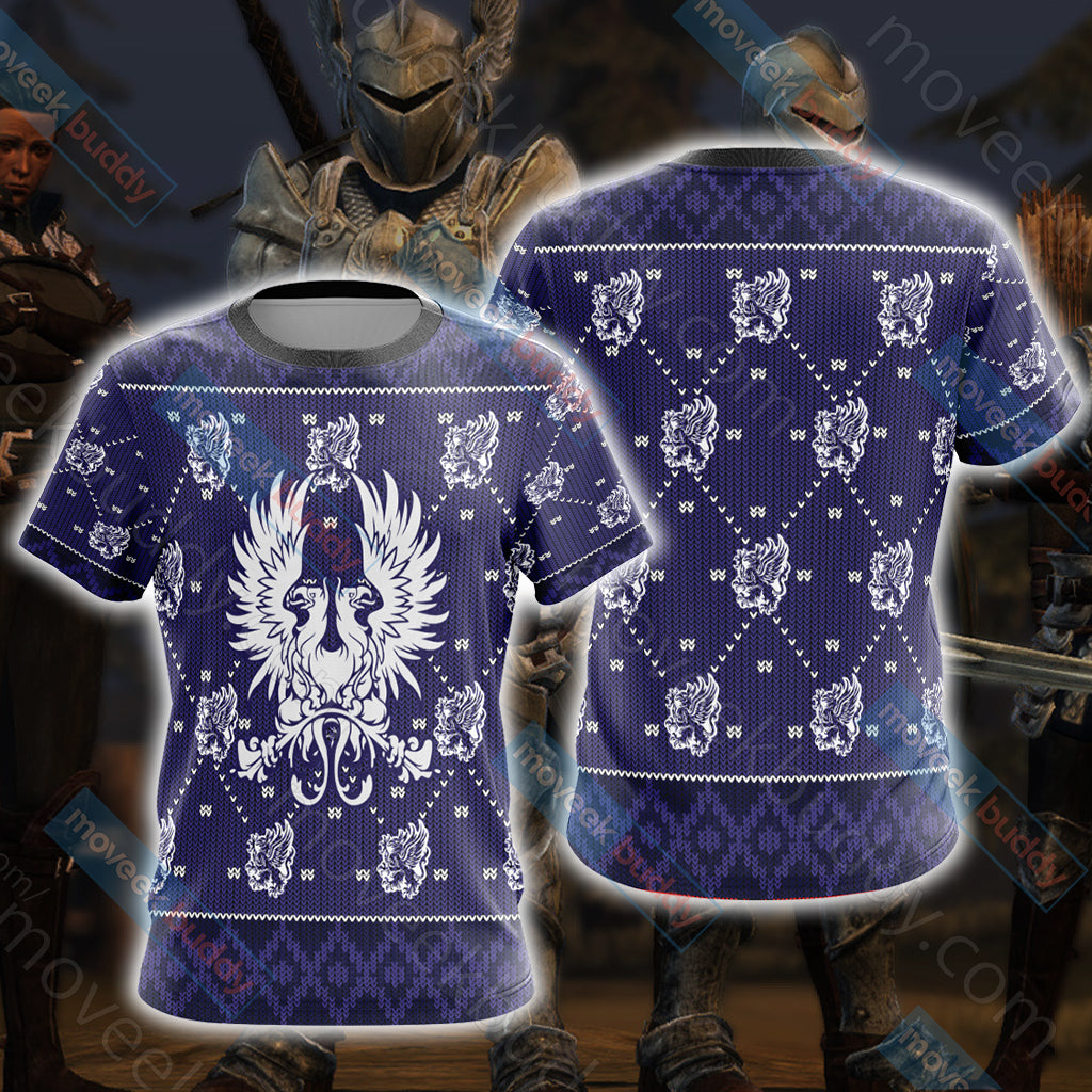 Dragon Age - Grey Wardens Unisex 3D T-shirt