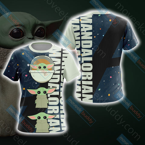 Image of Star Wars - The Mandalorian The Child Cartoon Unisex 3D T-shirt