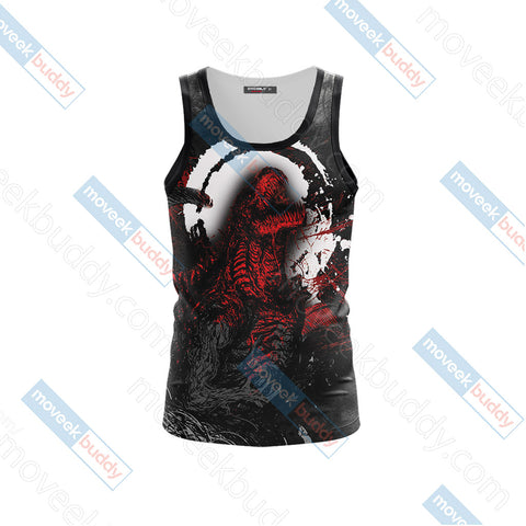 Godzilla King Of The Monsters New Version 3D Tank Top