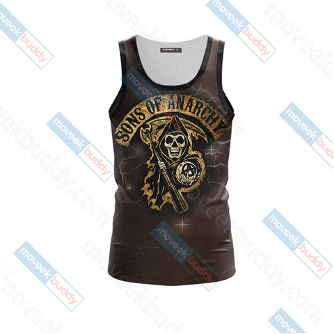 Son of Anarchy Unisex 3D Tank Top