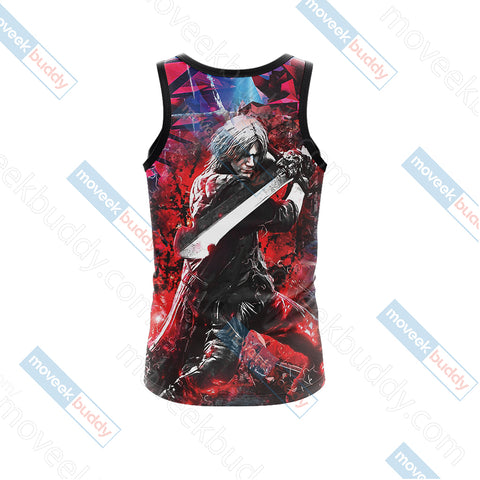 Image of Devil May Cry - Dante Unisex 3D Tank Top