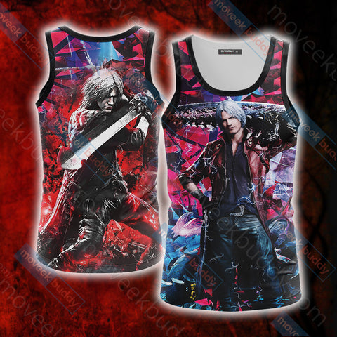 Devil May Cry - Dante Unisex 3D Tank Top