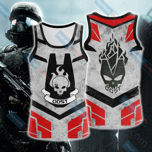 Halo - ODST Unisex 3D Tank Top