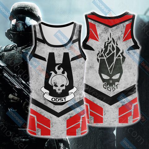 Image of Halo - ODST Unisex 3D Tank Top