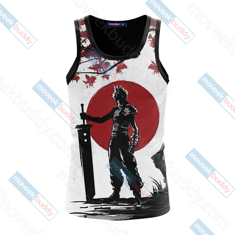 Final Fantasy 7 Cloud Strife Unisex 3D Tank Top