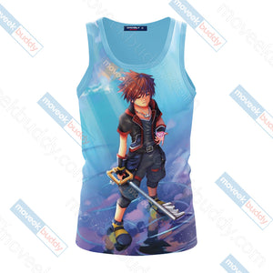 Kingdom Hearts - Sora Unisex 3D Tank Top