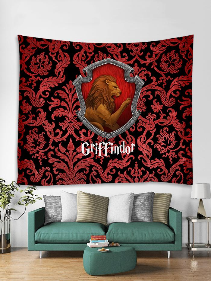 The Gryffindor Lion Harry Potter 3D Tapestry
