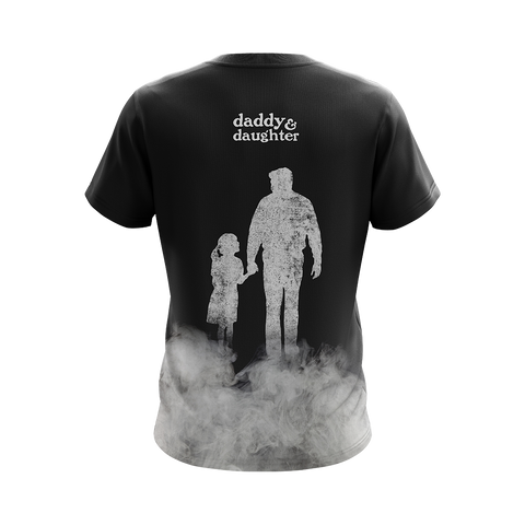 Image of Daddy & Daughter - Not Always Eye To Eye But Always Heart To Heart Unisex 3D T-shirt