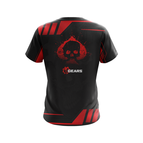 Image of Gears Of War Red Unisex 3D T-shirt