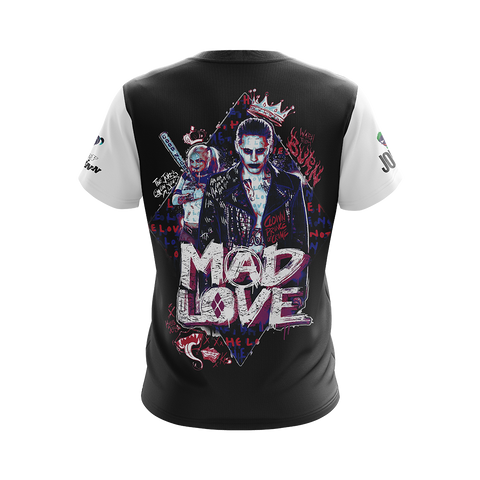 Suicide Squad Harley Quinn And Joker Unisex 3D T-shirt