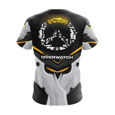 Overwatch Weapons Logo Unisex 3D T-shirt