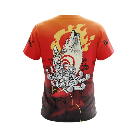 Image of Okami Fox Fire Unisex 3D T-shirt