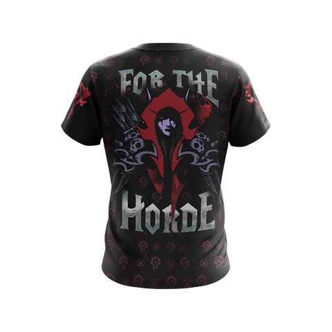 World Of Warcraft - Queen of the Forsaken Unisex 3D T-shirt