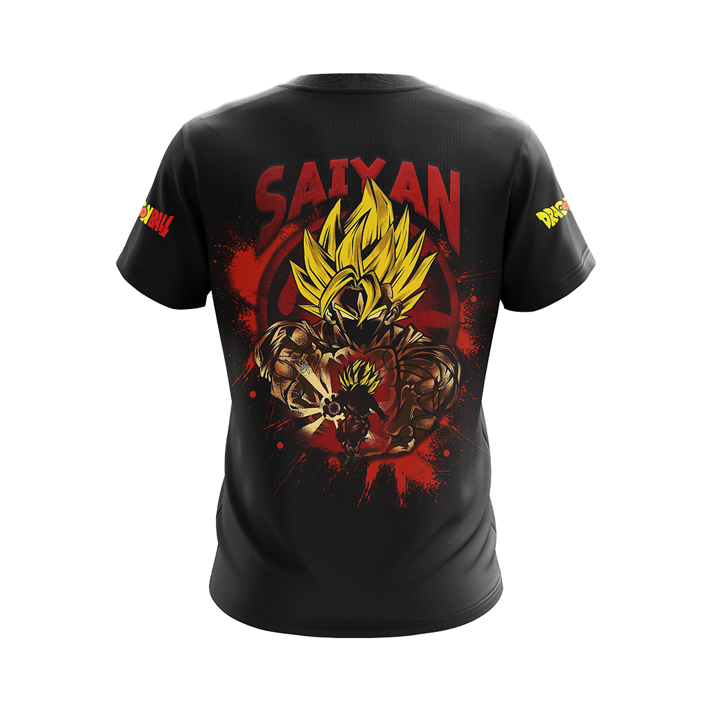 Dragon Ball Son Goku Super Saiyan Unisex 3D T-shirt