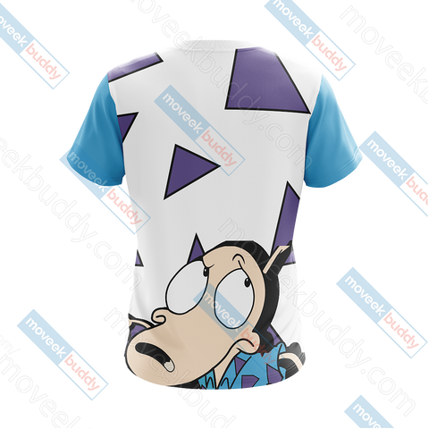 Image of Rocko's Modern Life Unisex 3D T-shirt