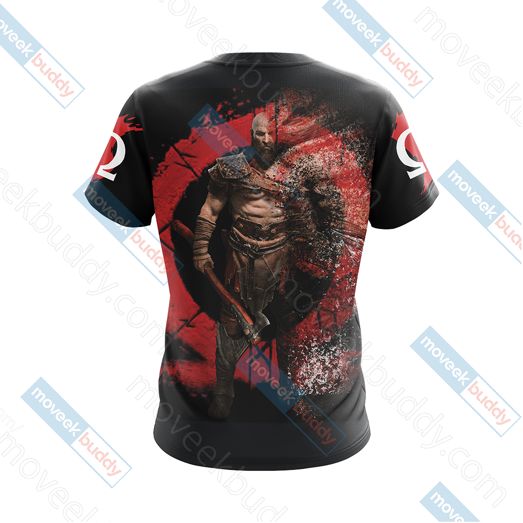 God Of War Version 2019 Unisex 3D T-shirt