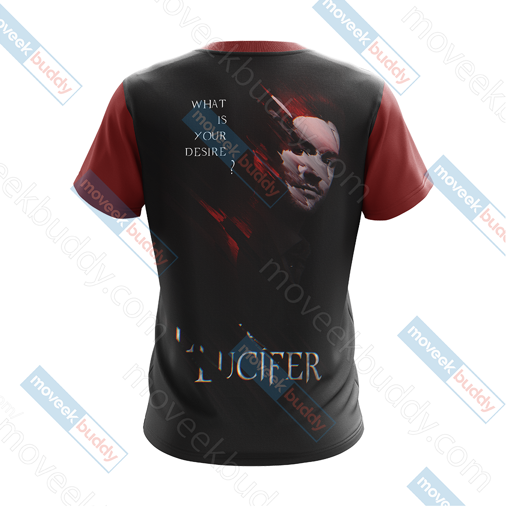 Lucifer New Version Unisex 3D T-shirt