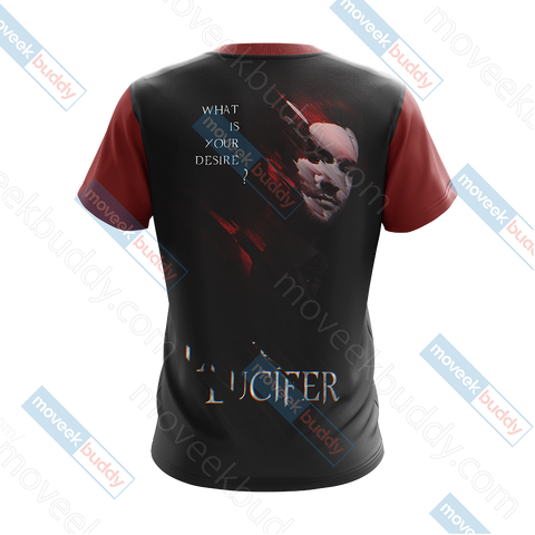 Image of Lucifer New Version Unisex 3D T-shirt