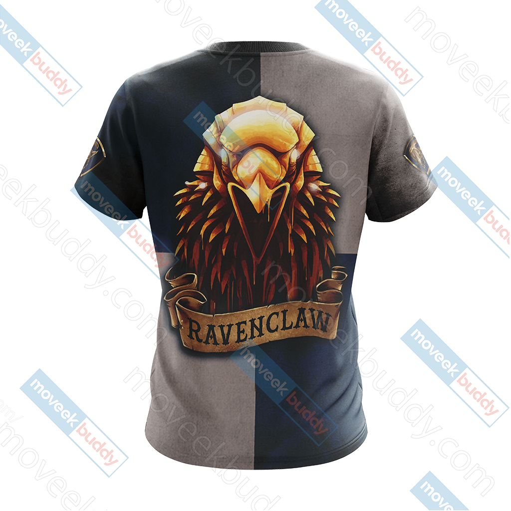 Ravenclaw Eagles Harry Potter New Look Unisex 3D T-shirt