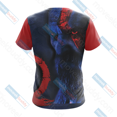 Image of God Of War - Kratos New Collection Unisex 3D T-shirt