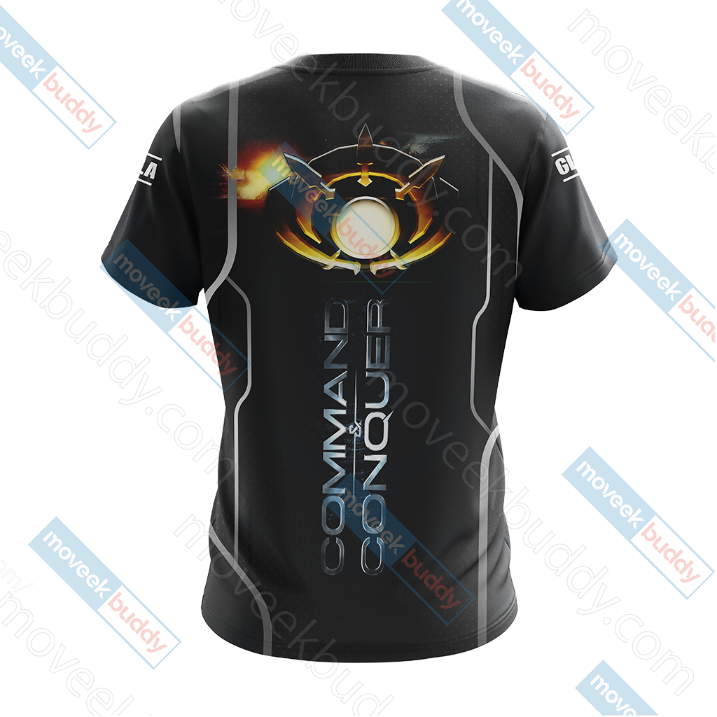 Command & Conquer - GLA (Global Liberation Army) Unisex 3D T-shirt