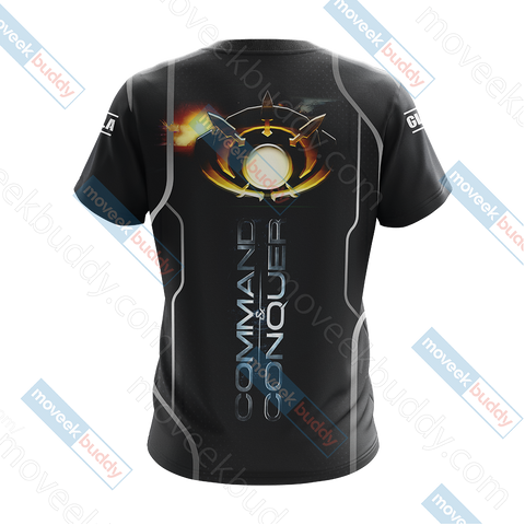 Image of Command & Conquer - GLA (Global Liberation Army) Unisex 3D T-shirt