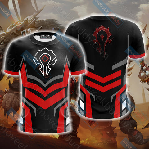 World Of Warcraft - Horde New Version Unisex 3D T-shirt