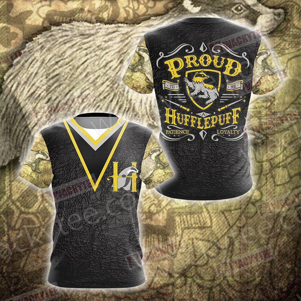 Harry Potter - Proud Hufflepuff Unisex 3D T-shirt