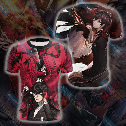 Image of Persona 5 Joker And Arsen Unisex 3D T-shirt