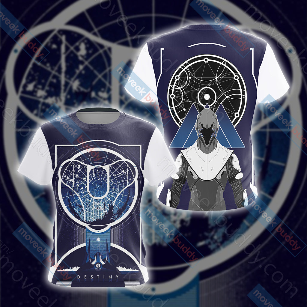 Destiny New Look Unisex 3D T-shirt