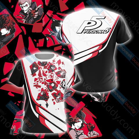 Persona 5 New Look Unisex 3D T-shirt