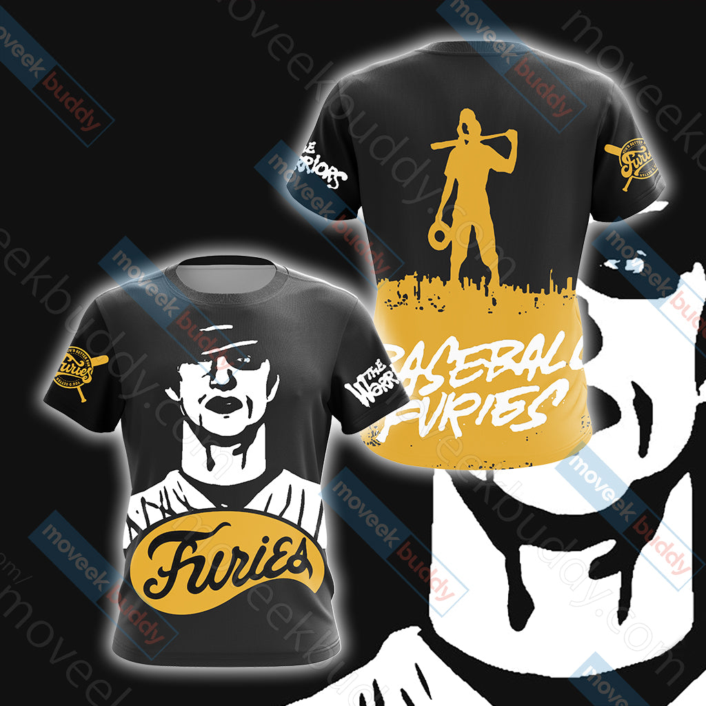 The Warriors The Baseball Furies Unisex 3D T-shirt
