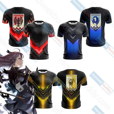 Fire Emblem Version 1 Unisex 3D T-shirt