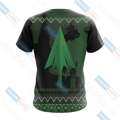 Arrow Knitting Style Unisex 3D T-shirt