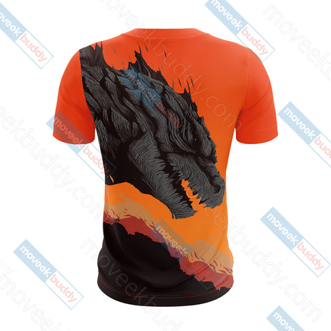 Godzilla King Of The Monsters Unisex 3D T-shirt