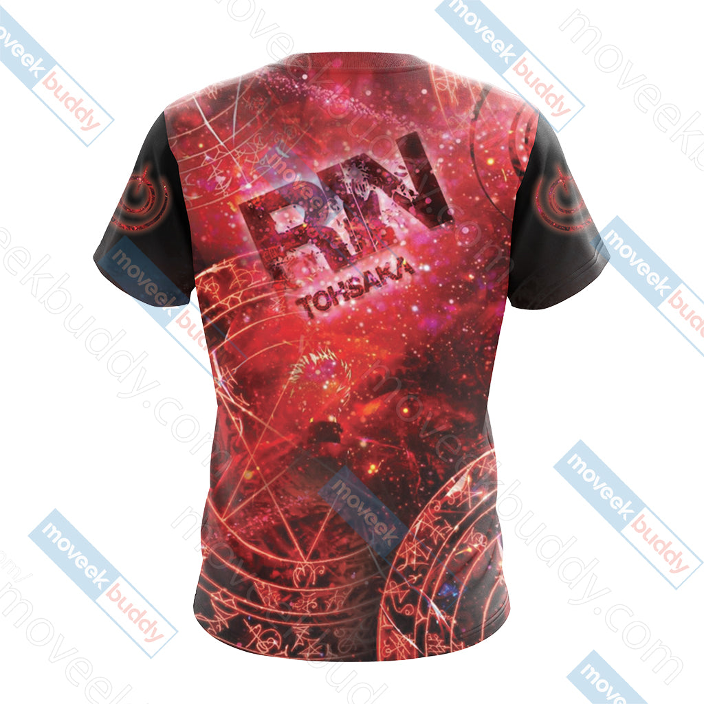 Fate / Stay Night - Rin Unisex 3D T-shirt