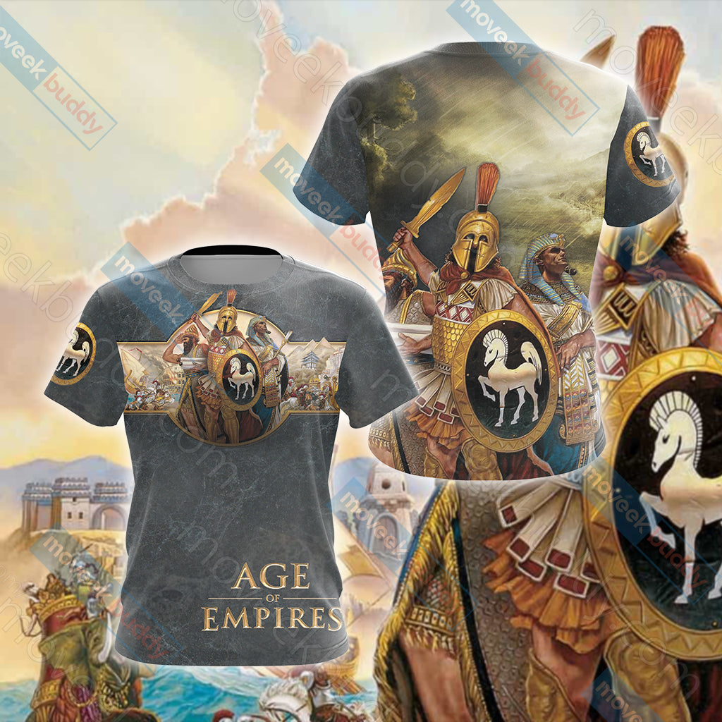Age of Empires (video game) Unisex 3D T-shirt