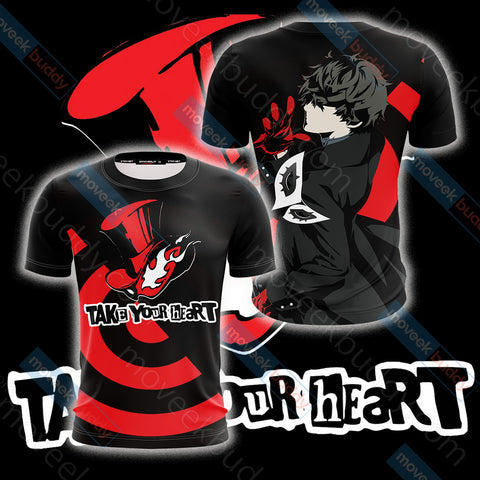 Image of Persona 5 - Phantom Thieves Symbol Unisex 3D T-shirt