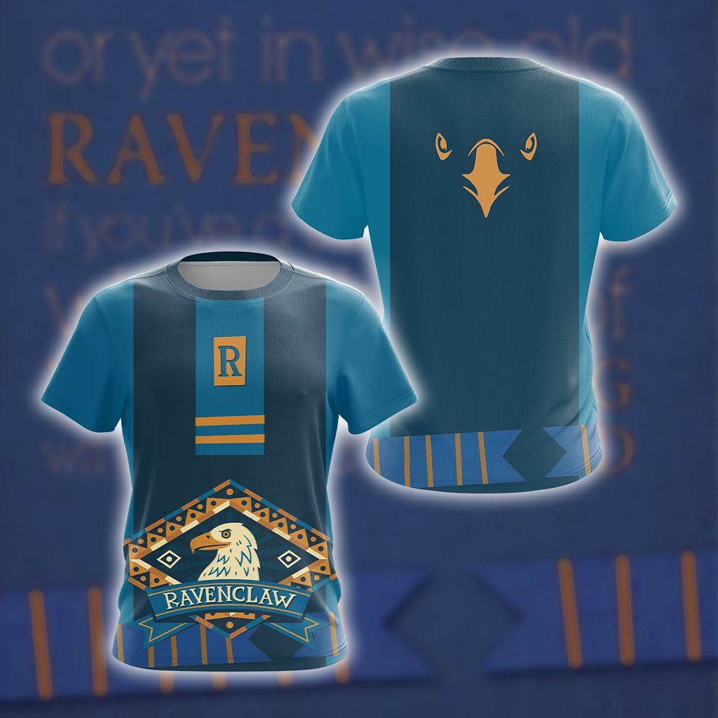 Harry Potter - Wise Like A Ravenclaw New Unisex 3D T-shirt