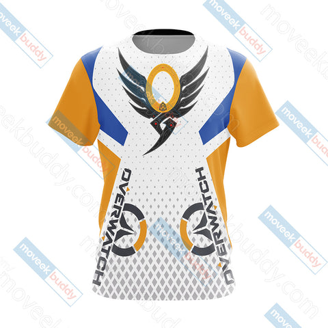 Image of Overwatch - Mercy Valkyrie Unisex 3D T-shirt