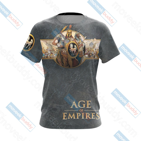 Image of Age of Empires (video game) Unisex 3D T-shirt