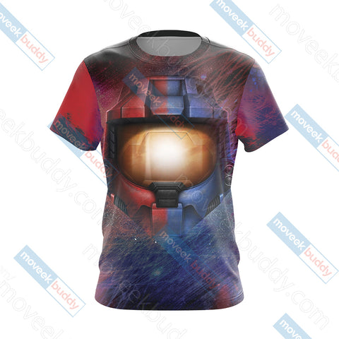 Image of Red vs. Blue New Unisex 3D T-shirt