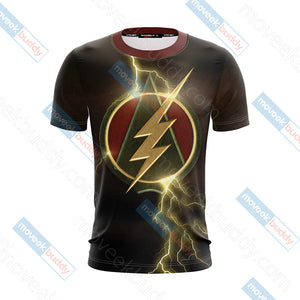 Arrow and Flash Unisex 3D T-shirt
