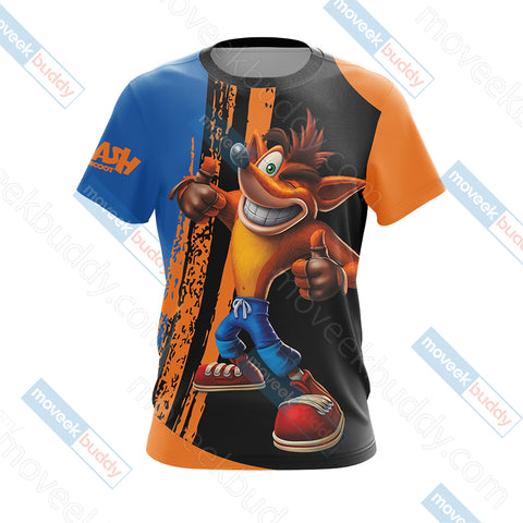 Image of Crash Bandicoot New Look Unisex 3D T-shirt