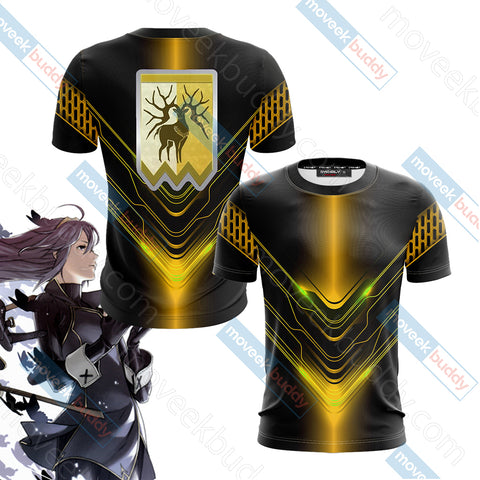 Fire Emblem Version 3 Unisex 3D T-shirt
