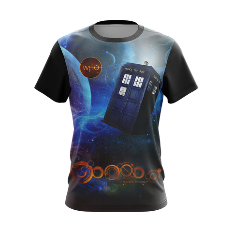 Doctor Who New Unisex 3D T-shirt