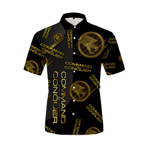 Image of Command & Conquer - Teberian Unisex Hawaiian Shirt