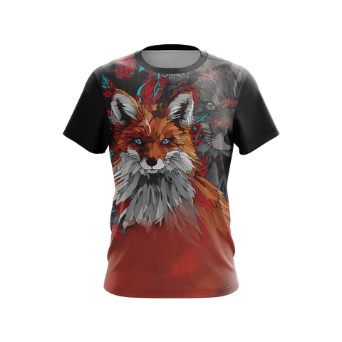 Image of Aesthetic Fox Unisex 3D T-shirt