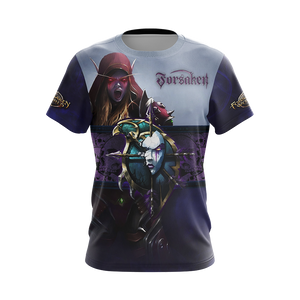 World Of Warcraft - Forsaken Unisex 3D T-shirt
