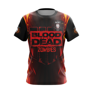 Call of Duty: Black Ops Zombies Unisex 3D T-shirt